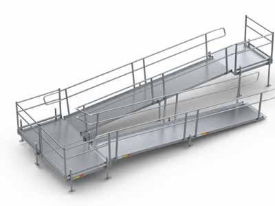 Handicap ramps wheelchair ramps pathway modular ramps for Ada modular homes